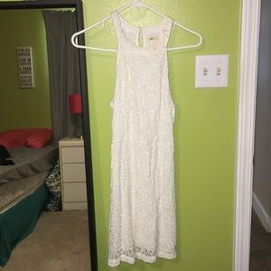 New condition White Lace dress